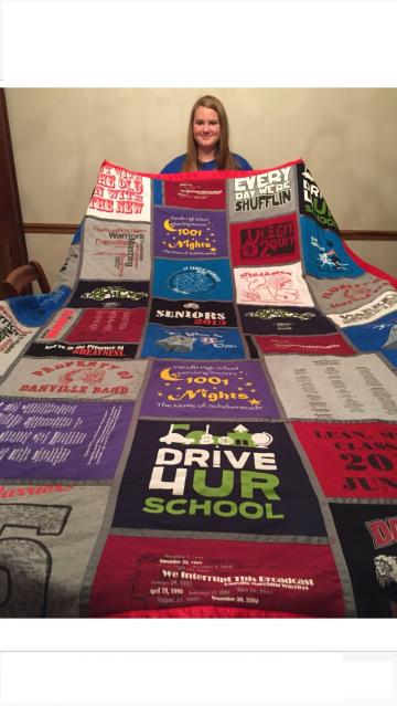Erika's New Quilt